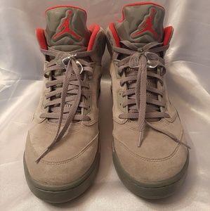 Mens Nike Air Jordan 5 Camo 136027-051 Size 12